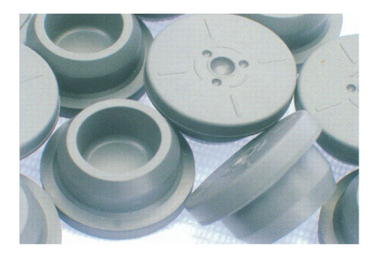 Teflon coated butyl rubber stopper